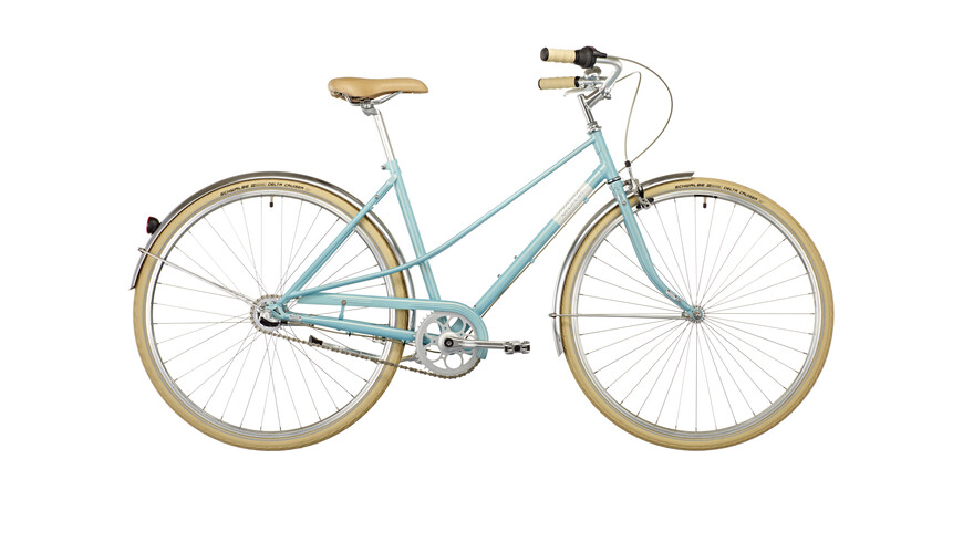 Creme Caferacer Uno Lady 3-speed turquoise